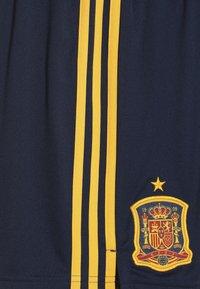 adidas Performance - SPAIN FEF HOME SHORTS - Sports shorts - collegiate navy - 4