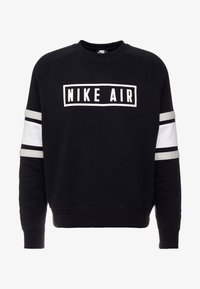Nike Sportswear - AIR CREW  - Sudadera - black/white/grey heather - 4