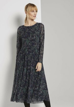DRESS MIDI - Day dress - black