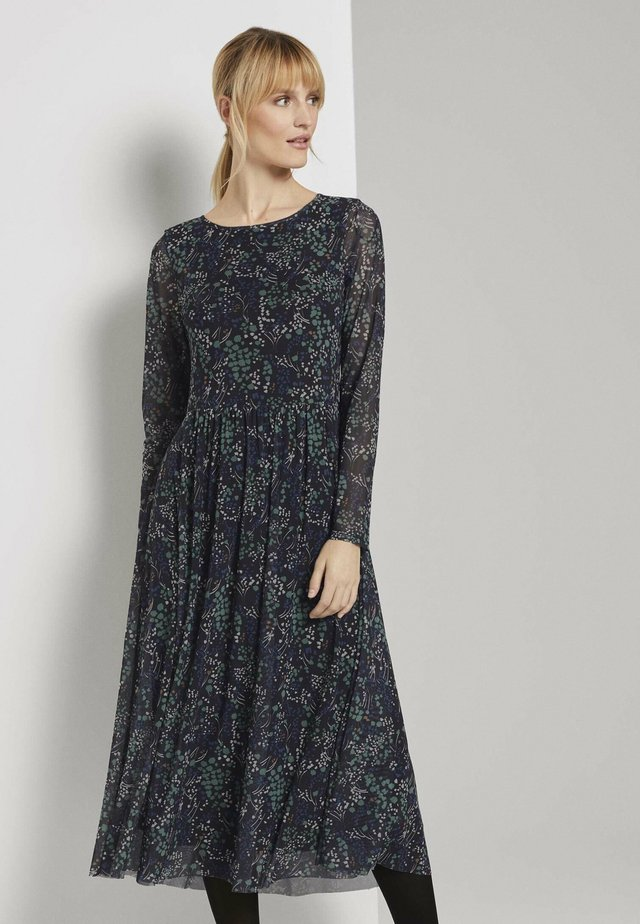 DRESS MIDI - Sukienka letnia - black