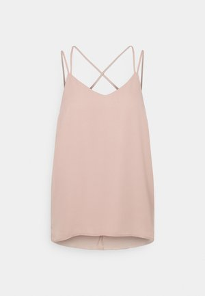 JDYNYNNE LAYER SINGLET  - Top - adobe rose