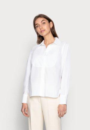 DAY CRISPY - Button-down blouse - bright white