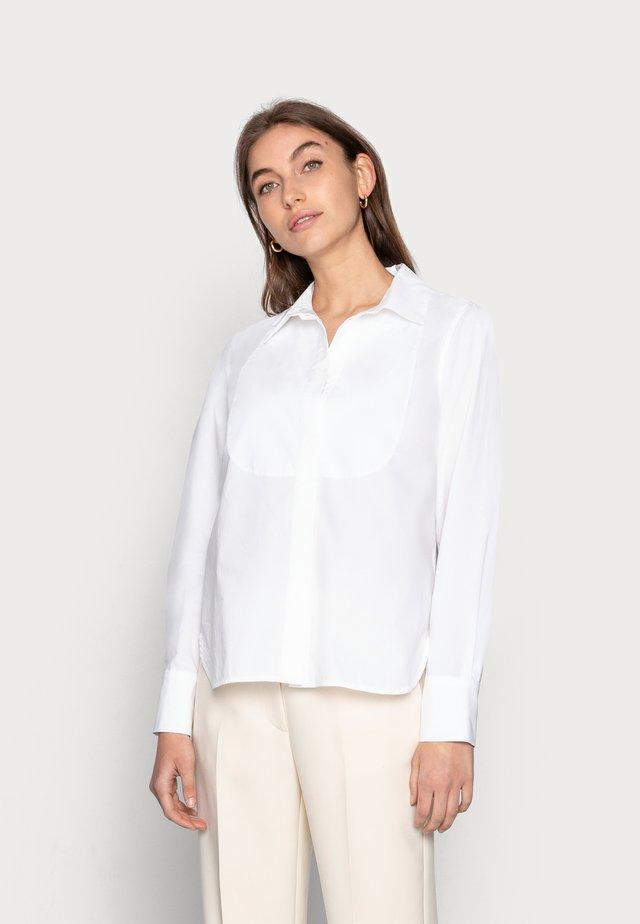 DAY CRISPY - Button-down blouse - bright white