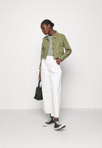 ALIGNE - CATRINA - Denim jacket - khaki - 1