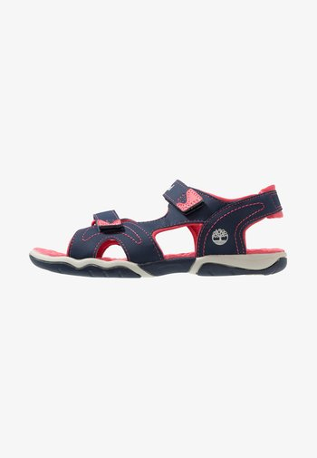 ADVENTURE SEEKER 2 STRAP - Walking sandals - navy/pink