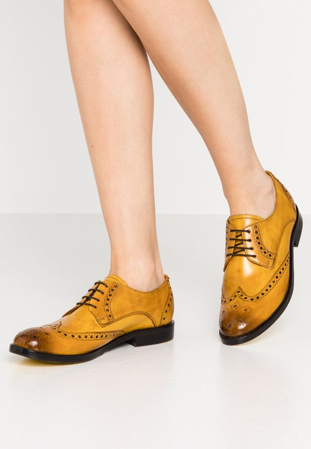 AMELIE  - Lace-ups - indi yellow