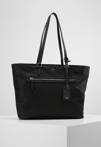 DKNY - CASEY LARGE TOTE - Shopping bags - black - 0