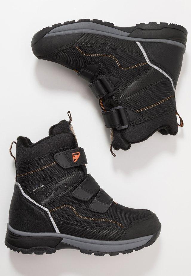 ALGA - Bottes de neige - black