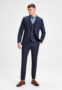 Jack & Jones PREMIUM - JPRSOLARIS  - Suit trousers - dark navy - 1