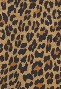 Claesen's - GIRLS ANIMAL PRINT - Jersey dress - brown - 2