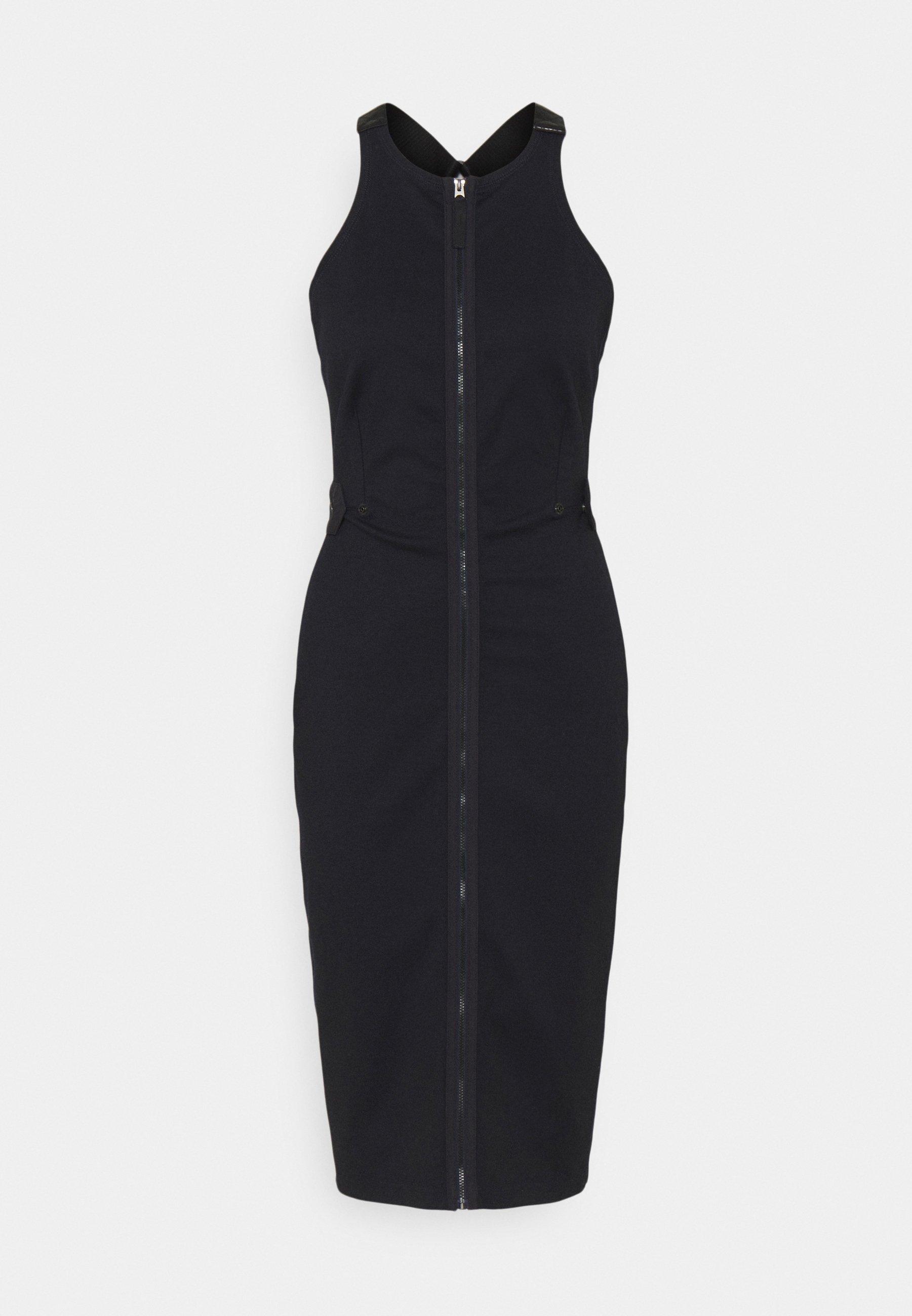 Women SLIM FIT DUNGAREE DRESS - Shift dress