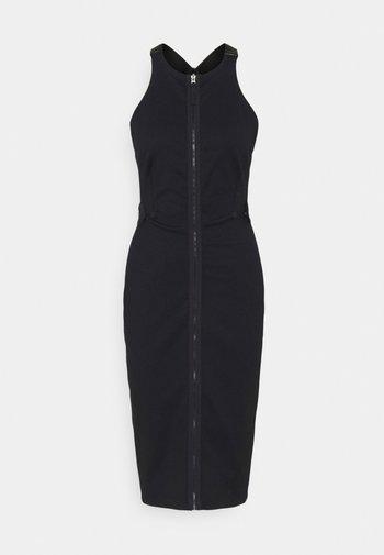 SLIM FIT DUNGAREE DRESS