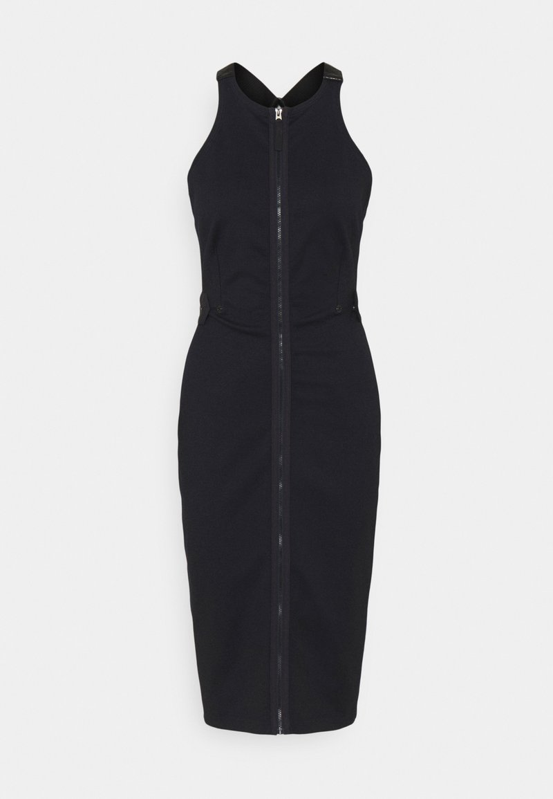 G-Star - SLIM FIT DUNGAREE DRESS - Etui-jurk - rinsed