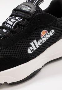 Ellesse - MASSELLO - Trainers - black/white - 5