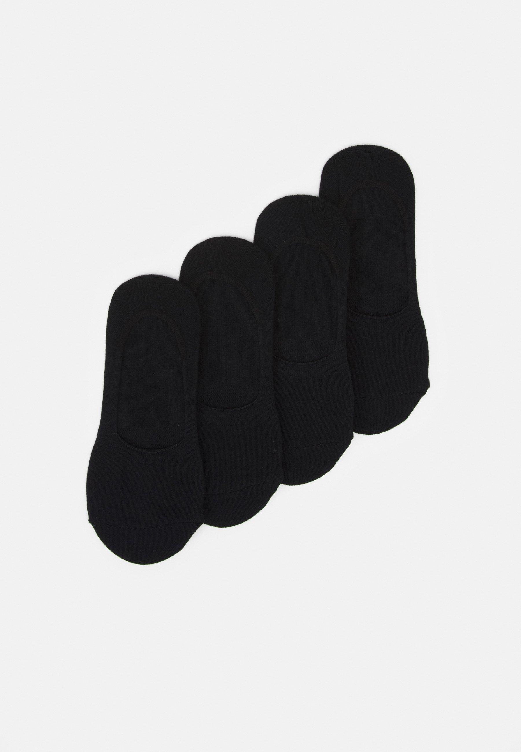 Women PCGILLY FOOTIES 4 PACK - Trainer socks