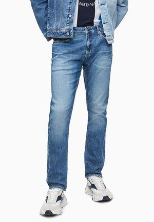 Slim fit jeans - da bright blue embroidery