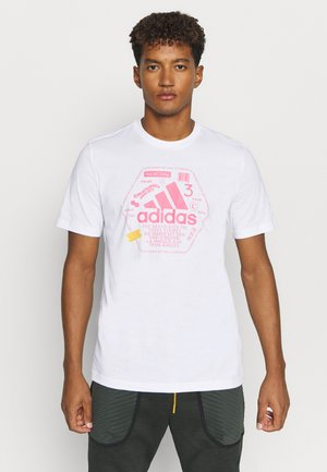 SNACK BOS TEE - T-shirt med print - white