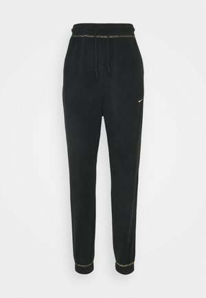 Pantaloni sportivi - black/metallic gold