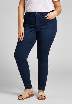 SUPER HIGH SCARLETT - Jeansy Skinny Fit - dark evita