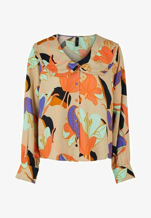 YASEROLA - Button-down blouse - multicoloured