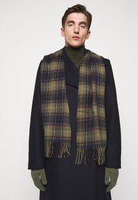 Barbour - TARTAN SCARF AND GLOVE GIFT SET UNISEX - Scarf - classic/olive - 0