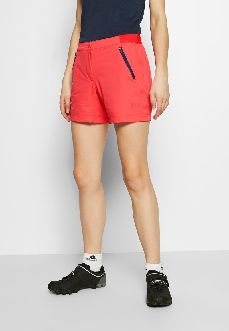 Jack Wolfskin - TRAIL - Outdoor shorts - tulip red