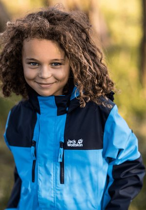 JASPER  - Waterproof jacket - sky blue