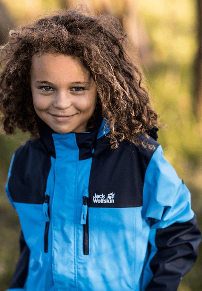 Jack Wolfskin - JASPER  - Waterproof jacket - sky blue