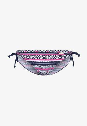 PANTS - Bikini bottoms - navy/pink