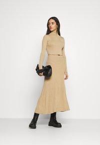 River Island - Jumper dress - camel - 1