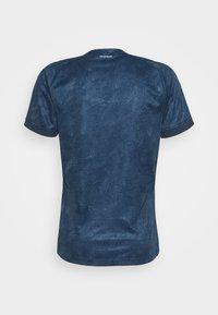 adidas Performance - TEE  - Print T-shirt - blue - 8