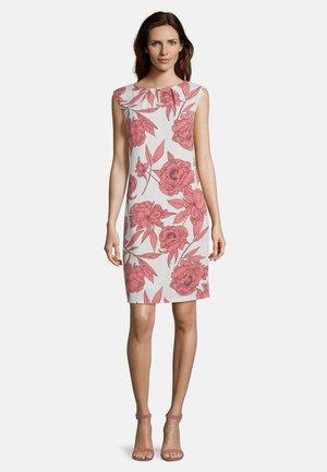 OHNE ARM - Day dress - cream/rosé