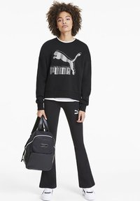Puma - Sweatshirt - black-metallic silver - 1