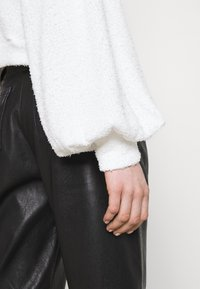 Nly by Nelly - SLOUCHY FLUFFY - Kardigan - white - 3