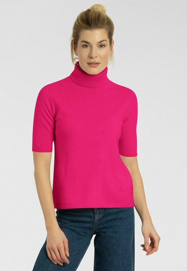 T-shirt basic - bubble pink
