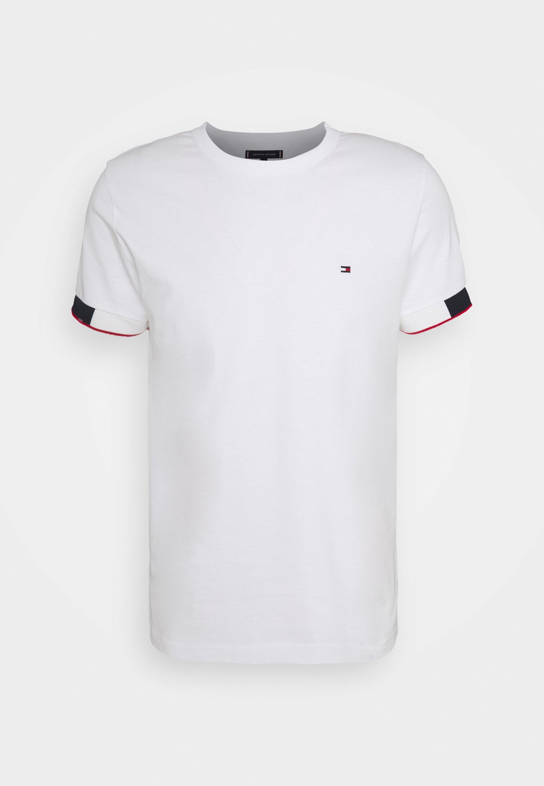 Uomo JACQUARD CUFF TEE - T-shirt con stampa
