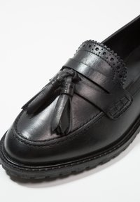 Anna Field - LEATHER FLAT SHOES - Mocassins - black - 2