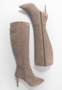 Zign - Boots med høye hæler - taupe - 3