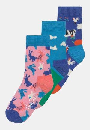BUNNY & FARMCREW & FARMTOWER 3 PACK UNISEX - Sokken - multi-coloured