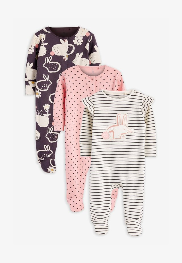 3 PACK - Sleep suit - pink