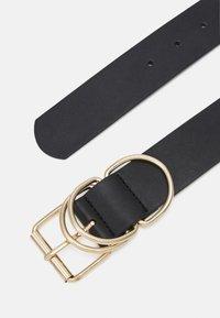 Pieces - PCSTELLA WAIST BELT - Waist belt - black/gold-coloured - 1