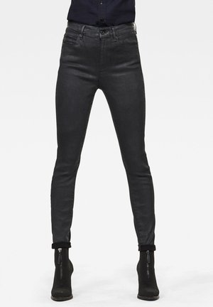 G-STAR SHAPE STUDS HIGH SUPER SKINNY - Jeans Skinny Fit - black obsidian cobler