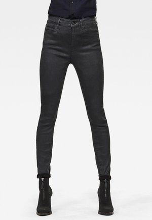 G-STAR SHAPE STUDS HIGH SUPER SKINNY - Jeans Skinny - black obsidian cobler