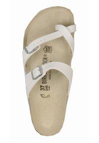 Birkenstock - T-bar sandals - white - 4