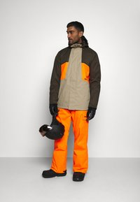 DC Shoes - DEFY JACKET - Snowboard jacket - brown - 1