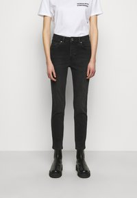 2nd Day - 2ND RIGGIS THINK TWICE - Straight leg jeans - black - 0