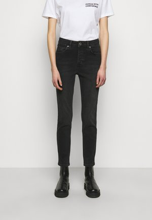 2ND RIGGIS THINK TWICE - Jeans a sigaretta - black