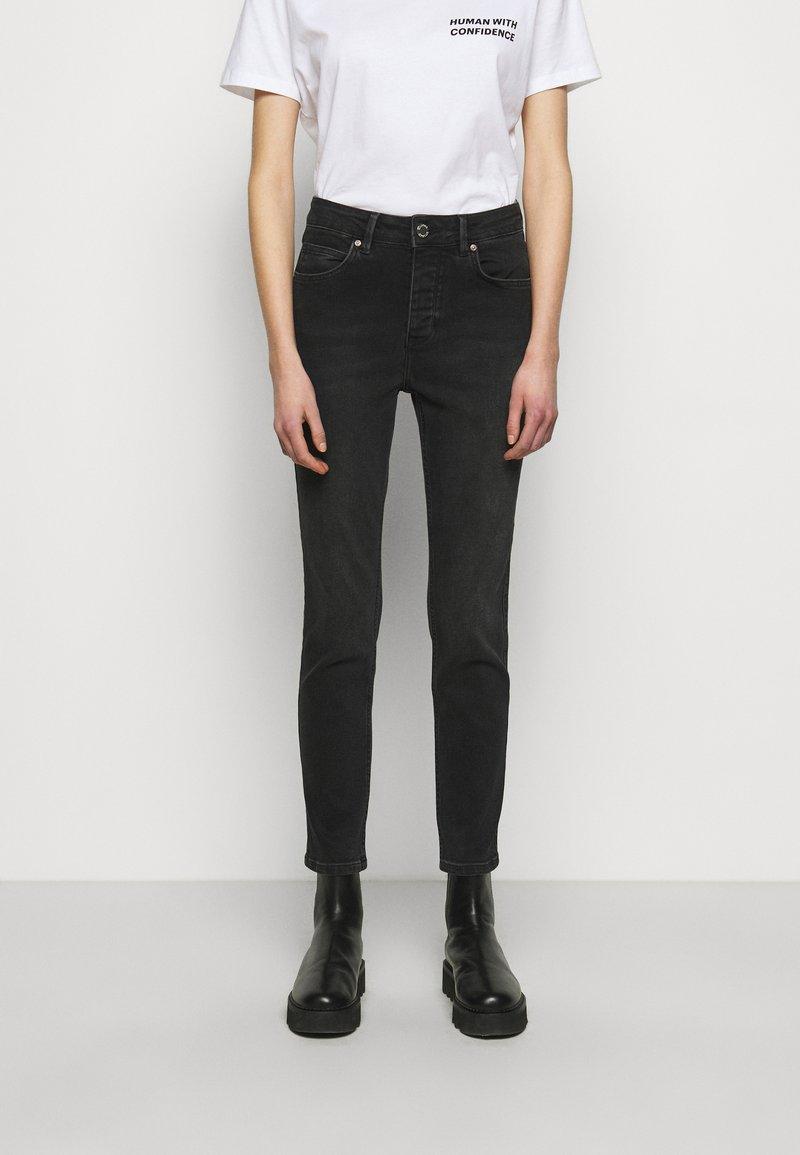 2nd Day - 2ND RIGGIS THINK TWICE - Straight leg jeans - black