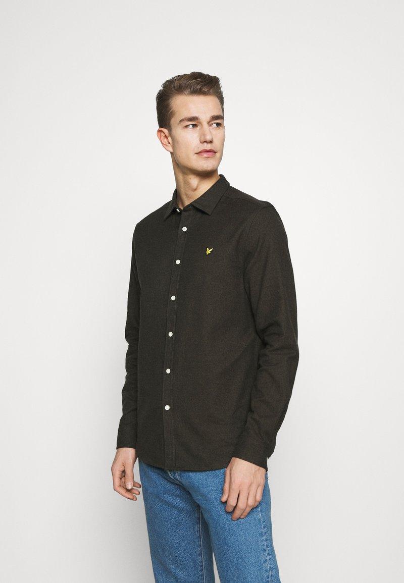 Lyle & Scott - Shirt - trek green/jet black