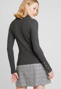 Freequent - Sweter - dark grey melange - 2